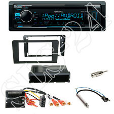 Kenwood KDC-300UV CD Radio  + Audi A3 Blende 2-DIN mit Fach + Aktivsystemadapter