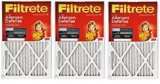 "3 ea 3M 9802-2Pk-Hd 2 Pack 20"" x 20"" x 1"" Micro Allergen Defense Furnace Filter"