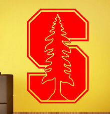 Stanford Cardinal Vinyl Decal Sticker Sport Home Art Decor NCAA College Football