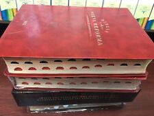 Biblia Nueva Reforma Piel Italina Rojo Nvi Con Indice CON REFERECIAS