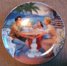 "South Pacific Commemorative Plate #3 (1987) - ""Dites-moi"" - Gignilliat - Nm"