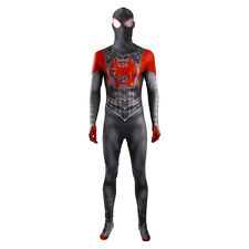 Spider-Man: Into the Spider-Verse Cosplay Costume Adult Men Halloween Jumpsuit