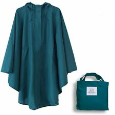 Raincoat Women Hooded Waterproof Outdoor Ladies Jacket Long Rain Coat Poncho