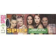 SPICE GIRLS Concert Ticket Stub LONDON UK 4/25/98 WEMBLY ARENA SPICEWORLD TOUR
