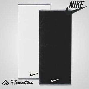 Nike Fundamental Towel 100% Cotton Gym Golf Sports Long Loop Twisted Cotton