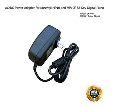 AC Power Adapter for Kurzweil MP10F and MP10 Digital Piano - 88-Key