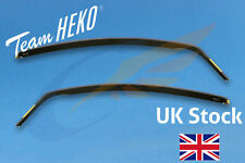 VAUXHALL CORSA D or E 3-doors Hatchback 2006-up 2-pc Wind Deflectors HEKO Tinted
