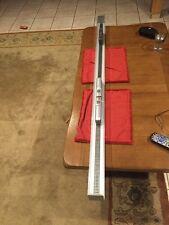 "Ho 63"" 160cm Model Train Case With Aluminum Base."