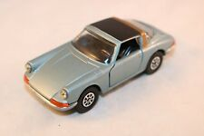 Corgi Toys 382 Porsche Targa 911S. Light metallic blue version in mint condition