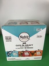 New listing Nutro Feed Clean Cuts In Gravy Perfect Portions Cat Food 24 Twin Pack 48 Serving