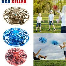360° Mini Drone Smart UFO Aircraft for Kids Flying Toys RC Hand Control Gifts US