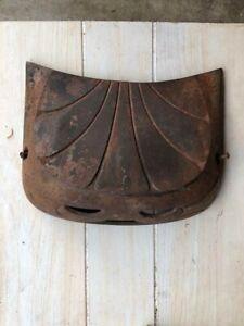 ANTIQUE NUBIAN HOTBLAST 640-40 CAST IRON PARLOR COAL WOOD POT BELLY STOVE PARTS