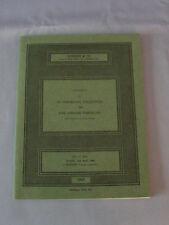 Vintage Sotheby Fine English Porcelain Catalog With Price List April 1968