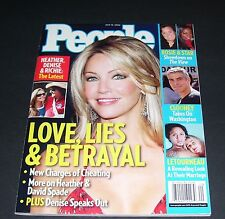 PEOPLE MAGAZINE MAY 15 2006 HEATHER LOCKLEAR DENISE RICHARDS COVER