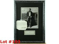 James Dean Framed Photo with Autograph Lot 103