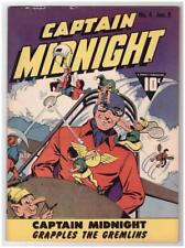 Captain Midnight #4 1943 Fine 6.0