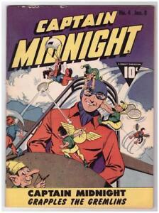 Captain Midnight #4 1943 Fine 6.0