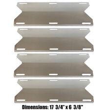 Jenn Air Gas Grill BBQ parts Heat Plate Stainless Steel Heat Shield SH91231 4Pk