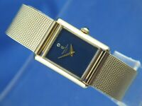 Charles Andre Fashion Tank Watch Vintage Circa 1960s New Old Stock NOS Serviced