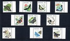 AUSTRALIA,1983 BUTTERFLIES, SET OF 10, MUH, (q19)