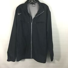 Nike Golf Men's XL Black Storm-Fit Lightweight Jacket Windbreaker Mesh Lined