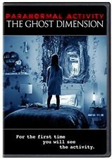 Paranormal Activity: The Ghost Dimension (2016, REGION 1 DVD New)