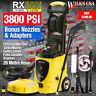 Wilks-USA Pressure Washer - 3800PSI Electric Power Jet washer for Patio - RX550i