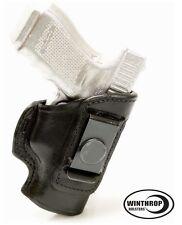 """Kel-Tec PF9 - 3.1"""" IWB NO Shield Single Spring Clip Holster R/H Black"""