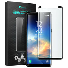 i-Blason Galaxy Note 8 Screen Protector, Curved Edge-to-Edge HD Tempered Glass