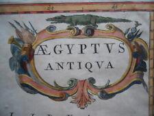 Map, Alexandrian Egypt, Pierre Duval c.1670, Aegyptus Antiqua Antique Original }