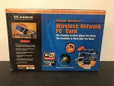 LINKSYS Instant Wireless Network PC Card WPC11 Making Connectivity Easier NEW