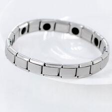 Bracelet Magnétique Germanium et Titanium Anti-Stress Anti-Fatigue Homme Femme