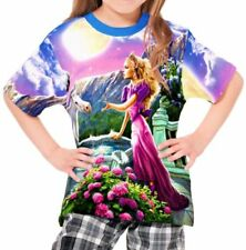 Princess Cotton Blend T-Shirts & Tops (2-16 Years) for Girls