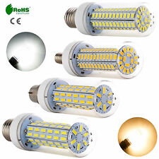 1-10x 35W 40W Bright E27 E14 B22 Bayonet 5730 7030 SMD LED Corn Light White Bulb