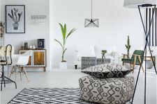 Alfombras indios color principal negro para pasillos