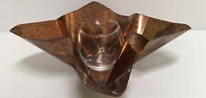 Copperworx Copper Votive Candle Holder Handcrafted In Mississippi Terri Dallriva