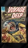 Voyage to the Deep #3 (1963) VG-FN Dell Comics *