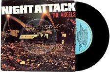 "THE ANGELS - NIGHT ATTACK / DEVIL'S GATE - RARE 7"" 45 VINYL RECORD PIC SLV 1981"