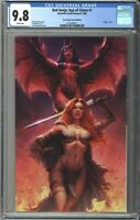 Red Sonja: Age of Chaos #1 CGC 9.8 Sad Lemon VIRGIN Variant