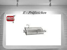 Endschalldämpfer Peugeot 206 1.4 1.6 2.0 HDi Auspuff Endtopf