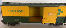 G Scale Model Railroad-Green MT Rutland Gateway - Freight Car - Bachmann