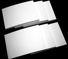 12 Notizblock Notizblöcke DIN A6 weiß a` 100 Bl. Block Einkaufszettel 1200 Blatt