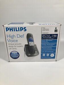 Philips CD445 DECT 6.0 Digital Cordless Telephone - NEW Open Box ✅