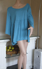Bnwt new Directions femme plus taille xxxl turquoise & metallic top + gratuit rose top