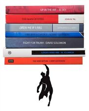 Bookends Superhero Metal Bookend Funky Home Gifts Book Design Superman Batmen