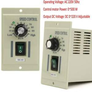 400W Knob Motor Variable Adjust AC Motor Speed Controller Instrument Accessories