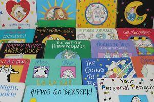 Lot of 10 Sandra Boynton Board Books for Children's/ Kids/ Toddler *Random Mix*