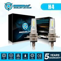 Pair 9003 H4 LED Headlight Bulbs Kit High-Low Beam Super Bright 55W 8000LM 6000K