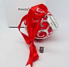 New w/Box Pandora Red Rockettes CHARM & 2017 Ltd Ornament B800641 796259EN07