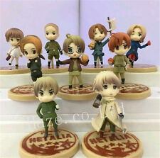 9pcs /Set Axis Powers Hetalia PVC Figure Figurine Toy 6cm